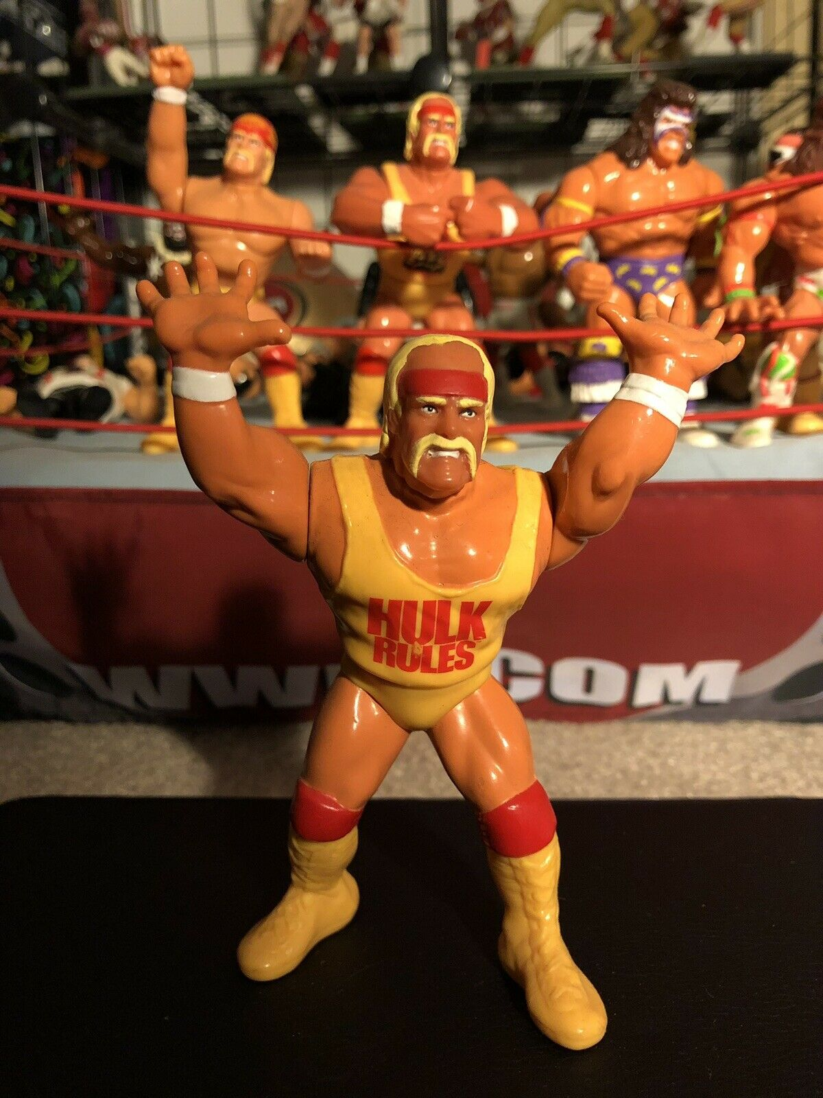 WWF  Series 1 HULK HOGAN Press Slam  Hulk Rules  Wrestling Action Figure WWE  Achetez maintenant