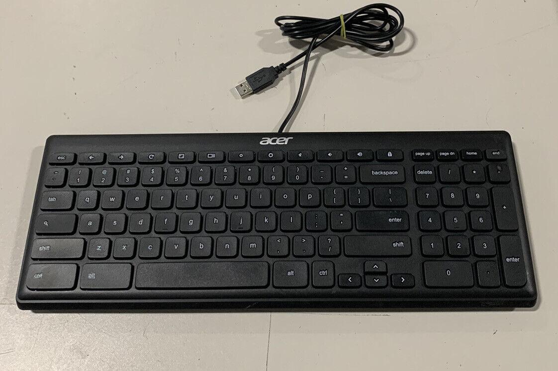 LOT OF 6 Acer KB69211 Keyboard Slim Wired USB Multimedia Keys. Buy it now for 29.99