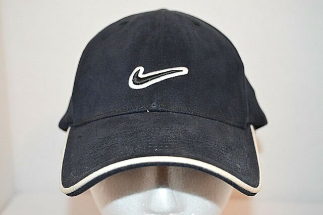 Nike Just Do It Black Pro Classics Cotton Fitted Golf Running Baseball Cap  Hat 587c8ed33af
