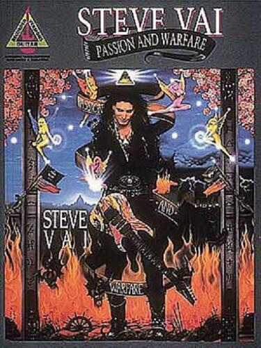 PASSION AND WARFARE GUITAR TAB BOOK STEVE VAI