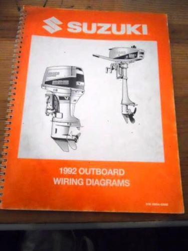 Suzuki 1992 Marine Outboard Wiring Diagram
