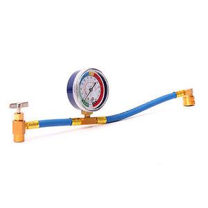 Aria-Condizionata-Refrigerante-Ricarica-Measuring-Hose-Gauge-340mm-R134A-M9-O3Q7