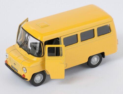 Blitz envío Nysa 522 Polonia PRL amarillo//Yellow Welly modelo auto 1:34 nuevo /& OVP