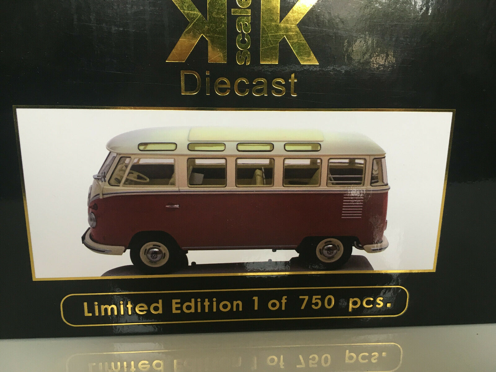 1962 furgoneta VW t1 samba - 1 18-kk - Scale