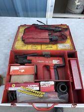 Hilti Dx 451 Powder Actuated Nail Gun Fastener Gun With Case Shells Accessories