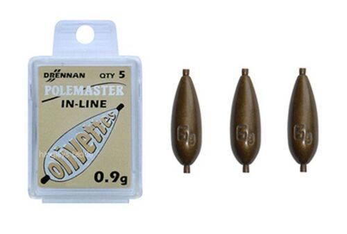 Drennan Polemaster New Generation In-Line Olivettes toutes tailles grossier pêche