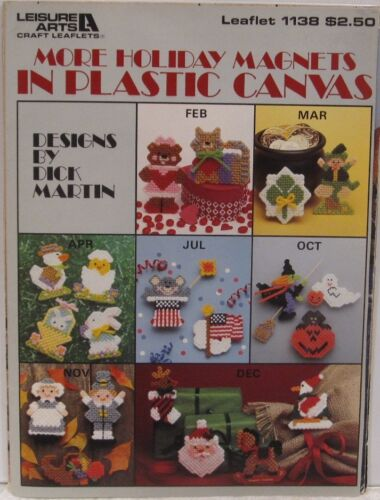 LEISURE ARTS Plastic Canvas Patterns Leaflets and Booklets  ~*U-PICK*~  #1