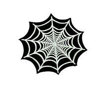 Patch backpack spider corner web iron on punk biker rockabilly music