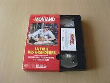 LA FOLIE DES GRANDEURS VHS Louis de Funès Yves Montand