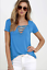 Sexy-Fashion-Women-V-Neck-Short-Sleeve-T-shirt-Casual-Loose-Blouse-Tops-Tee-2019 thumbnail 5