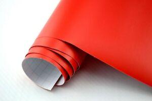 12 94 m auto folie rot matt 30 x 152 cm 3d klebefolie for Klebefolie rot