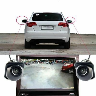 Car Safe Side Mirror Rear View Camera Parking Accessories