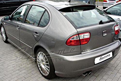 SEAT Leon 1M Chrom Zierleiste 3M Tuning Heckleiste Kantenschutz