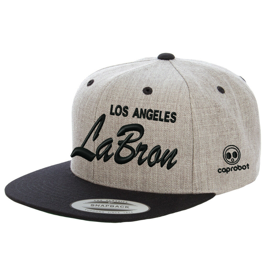 d52cd74aaaf1cc Los Angeles 23 Lakers Color LABron Hat Script Custom Embroidered Snapback  Cap | eBay