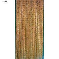 Bamboo Beaded Curtains Natural Wooden Bead Doorway Hanging Door Beads Tropical