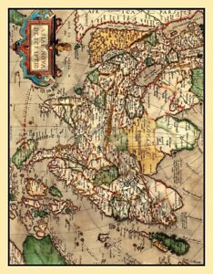 Old map asia giant wall poster art print llf0571 ebay image is loading old map asia giant wall poster art print publicscrutiny Gallery