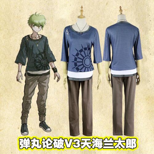 Danganronpa V3 Rantaro Amami Uniform Suit Outfit Cosplay Costume Custom Made