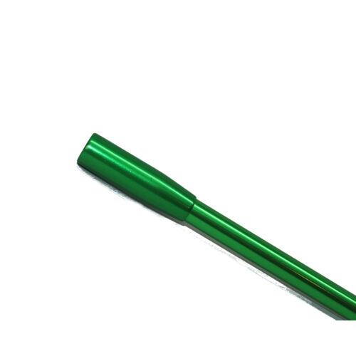 Utopiat Holly Vintage icónico Metálico Boquilla Larga Mujer en verde