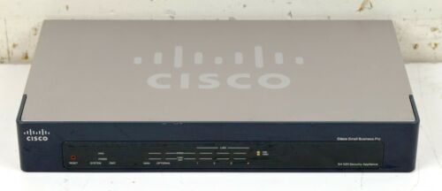 Cisco Small Business Pro SA 520 Security ApplianceSA520-K9Tested//Fac.Reset