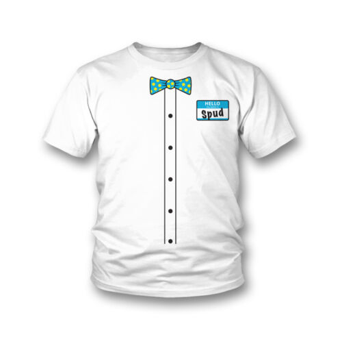 """Official TNA Impact Wrestling Spud /""""Name Tag/"""" T-Shirt"""