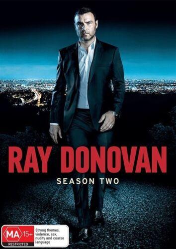 1 of 1 - Ray Donovan : Season 2 (DVD, 2015, 4-Disc Set)