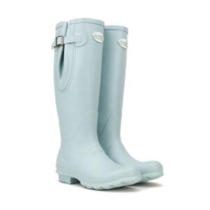 Rockfish-Women-039-s-Tall-Adjustable-Matt-Wellington-Boot-Various-Colours-Uk3-UK8