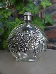 Perfume decorative bottle, roses design, beautiful