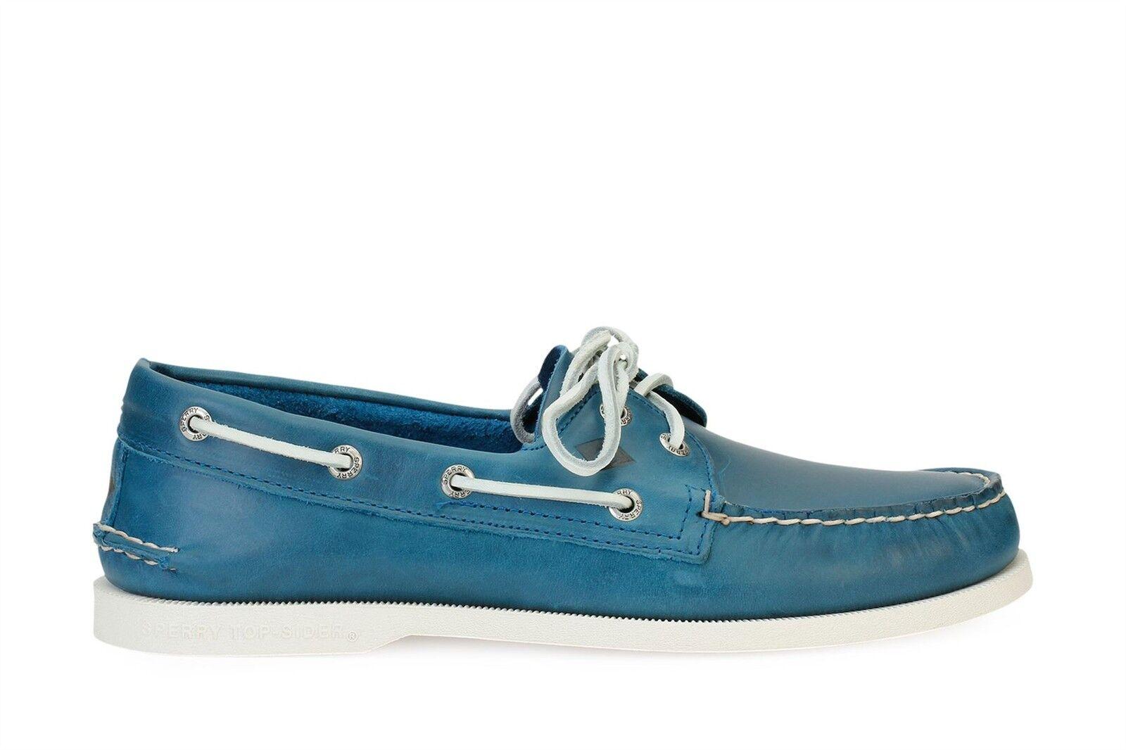 Scarpe casual da uomo  Sperry Top Sider uomos Boat Shoes A/O 2-Eye Sarape Blue