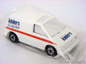 Ford Aerostar Kinko's White Hot Wheels 1994 Promotional Baggie