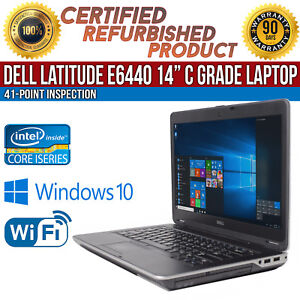 Details about C Grade Dell Latitude E6440 14