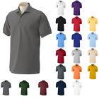 Gildan Men's DryBlend Moisture Wicking Jersey Polo Shirt S M L XL 2X 3X 4X 5XL