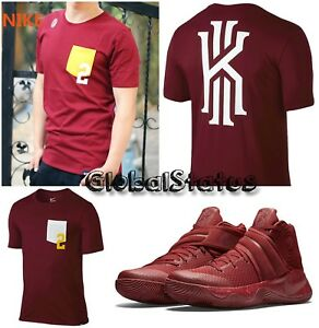 pretty nice 5afdc 74797 Image is loading NIKE-KYRIE-2-POCKET-034-RED-VELVET-CAVALIERS-