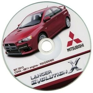 Mitsubishi-Lancer-EVO-X-manual-de-taller-workshop-manual