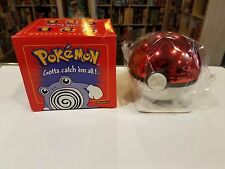 Burger King Pokemon Pokeball POLIWHIRL 23K Gold-Plated Trading Card LE