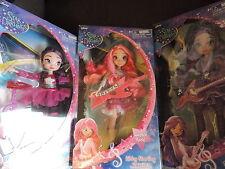 3 x Disney Star Darlings Sparkle Rock Dolls Scarlet, Libby & Sage BNIB