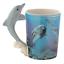 thumbnail 52 - Animal Shaped Handle Ceramic Mug Tea Coffee Cup Novelty Gift Jungle Tropical