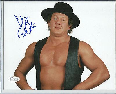 """ Cowboy"" Bob Orton Autograph 8x10 Photo Wwe Superstar Jsa Certified"