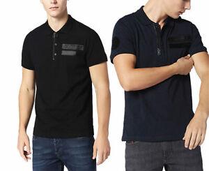 DIESEL-T-SNOW-Mens-Polo-Shirt-Classic-Golf-T-Shirt-Casual-Summer-Polo-Tees