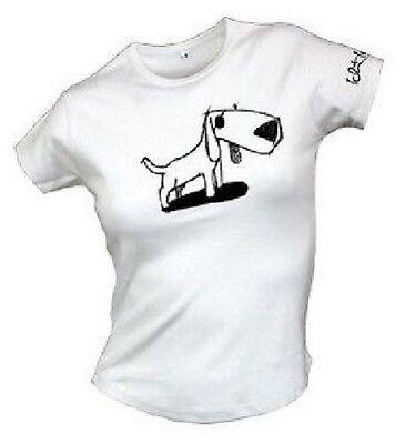 Preiswert Kaufen Ich & Ich - Hund - Girlie Shirt - Weiss - Neu & Sofort Exquisite Handwerkskunst;