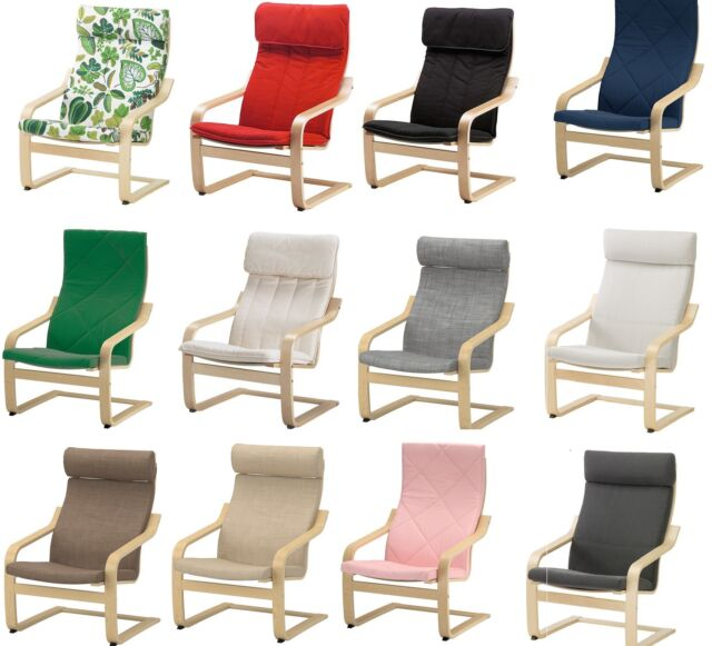 Awe Inspiring Ikea Poang Armchair Slipcover Replacement Cushion Slip Cover 22 Colours New Gmtry Best Dining Table And Chair Ideas Images Gmtryco