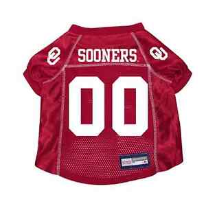 NEW-OKLAHOMA-SOONERS-DOG-PET-PREMIUM-JERSEY-w-NAME-TAG-ALL-SIZES-LICENSED