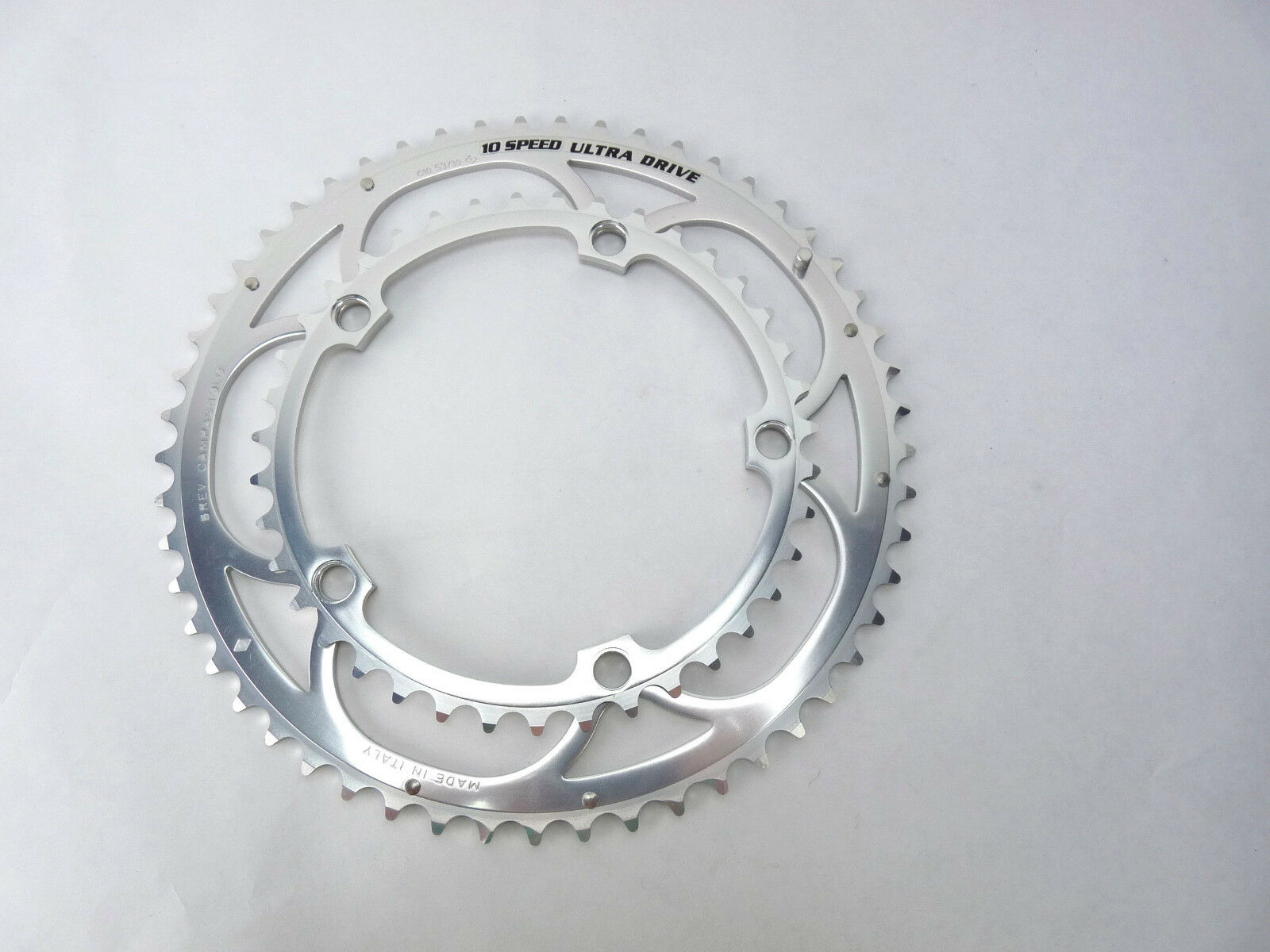 Campagnolo 10 speed Ultra Drive Chainring set 53 39T Road Bike NOS