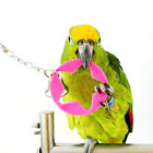 Pet Bird Parrot Bites Toy Chew Cage Hanging Swing Bell Toys Cockatiel Parakeet