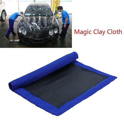 """2Pcs Clay Bar Microfibre Mitt Auto Car Cloth Towel Detailing Cleaning Cloth 12/"""""""