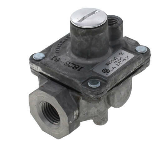 "Maxitrol RV20VL-1//4/"" Gas Pressure Regulator 65,000 BTU With Spring and Orifice"