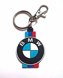 Bmw Keyring Rubber Key Chain Badge M3 M5 X5 X3 Z3 Z4 E36