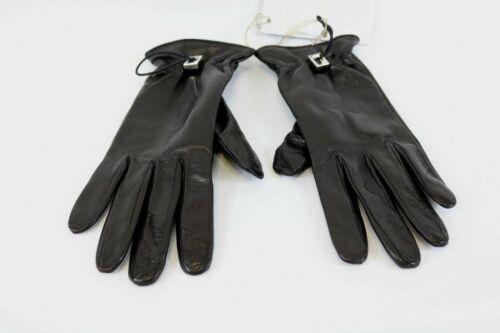 John Richmond Guanti Donna Damen Handschuhe Winter Leder Outdoor Gr.7 1//2
