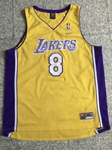 Vintage NBA Jersey Nike XL Men Kobe Bryant Jersey Los Angeles ...