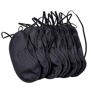 Sleep-Eye-Mask-Travel-Blindfold-Shade-Blinder-Soft-Elasticated-Rest-Wholesale