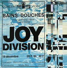 JOY DIVISION-Live At Les Bains Douches Paris December 18  (UK IMPORT)  VINYL NEW